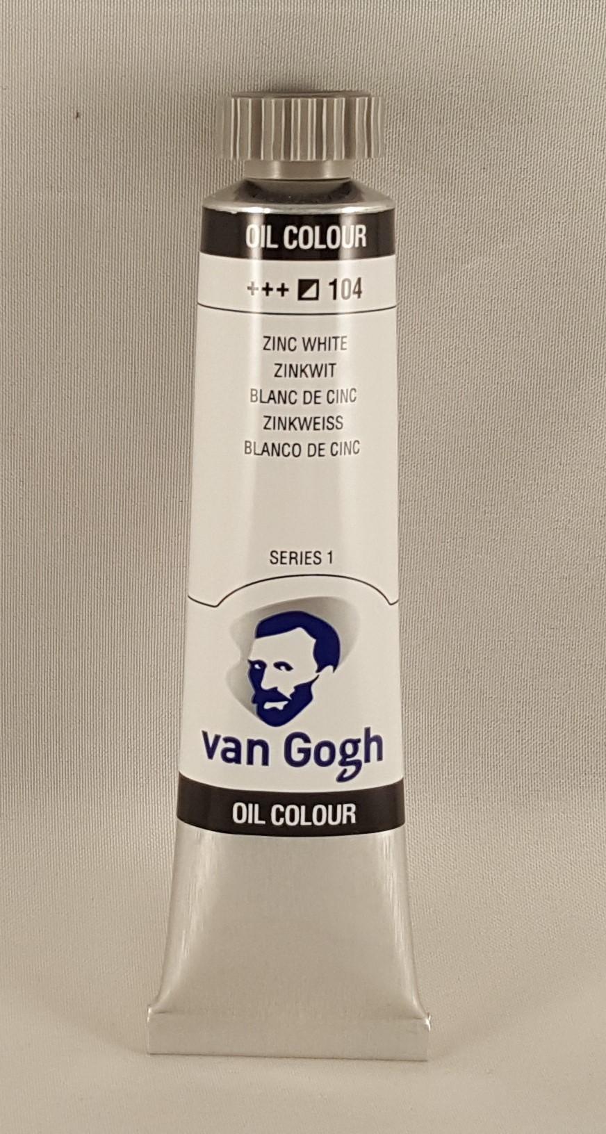 Tinta de óleo Van Gogh zink white