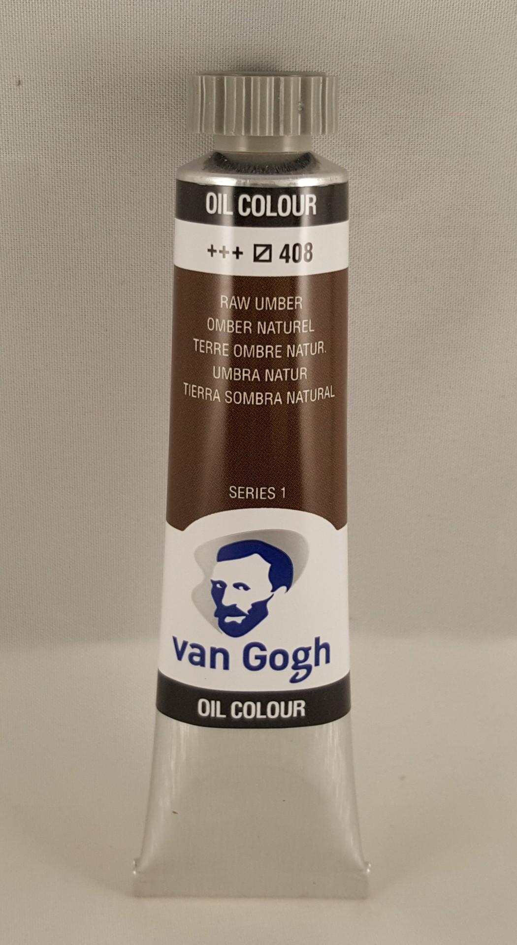 Tinta de óleo Van Gogh raw umber