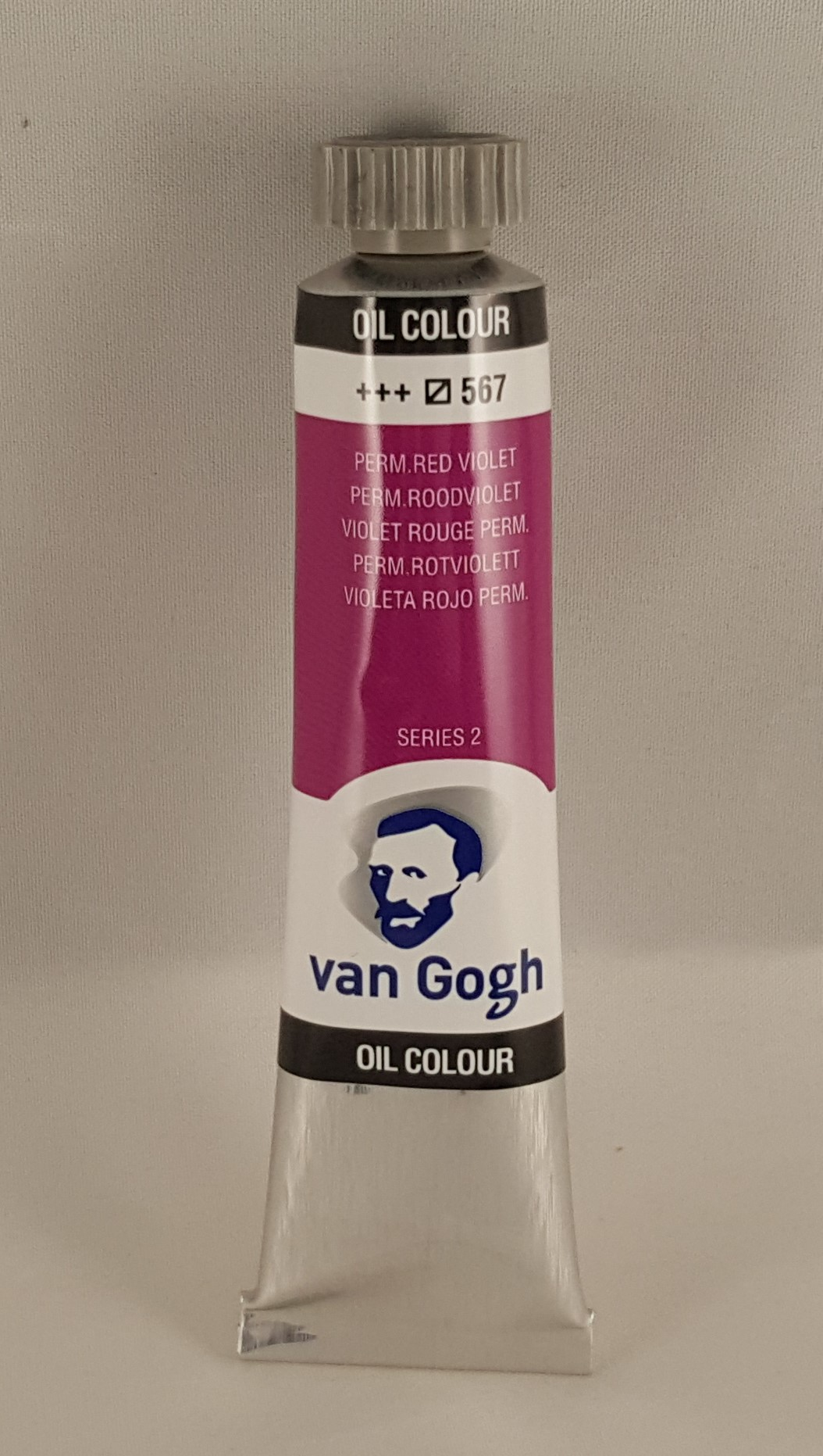 Tinta de óleo Van Gogh perm. red violet