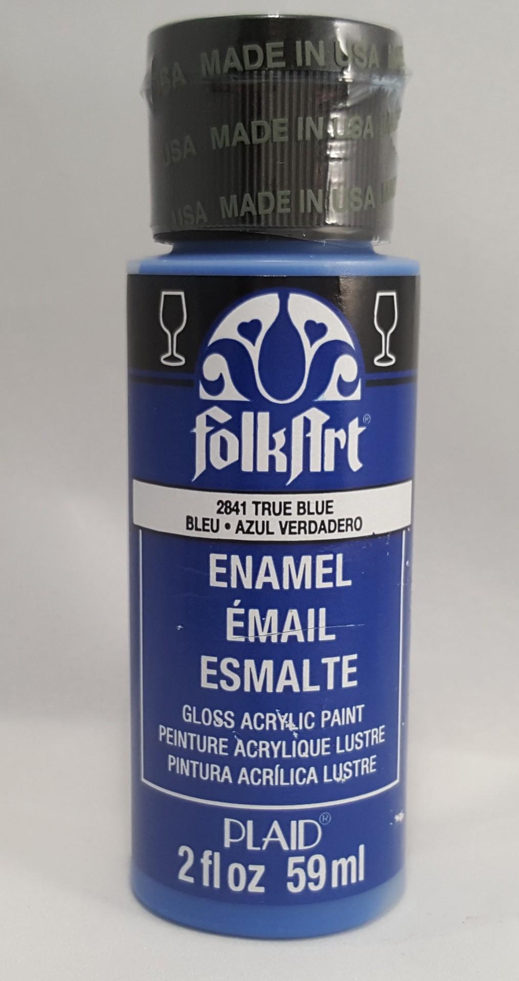 Tinta Acrílica Folkart Enamel True Blue