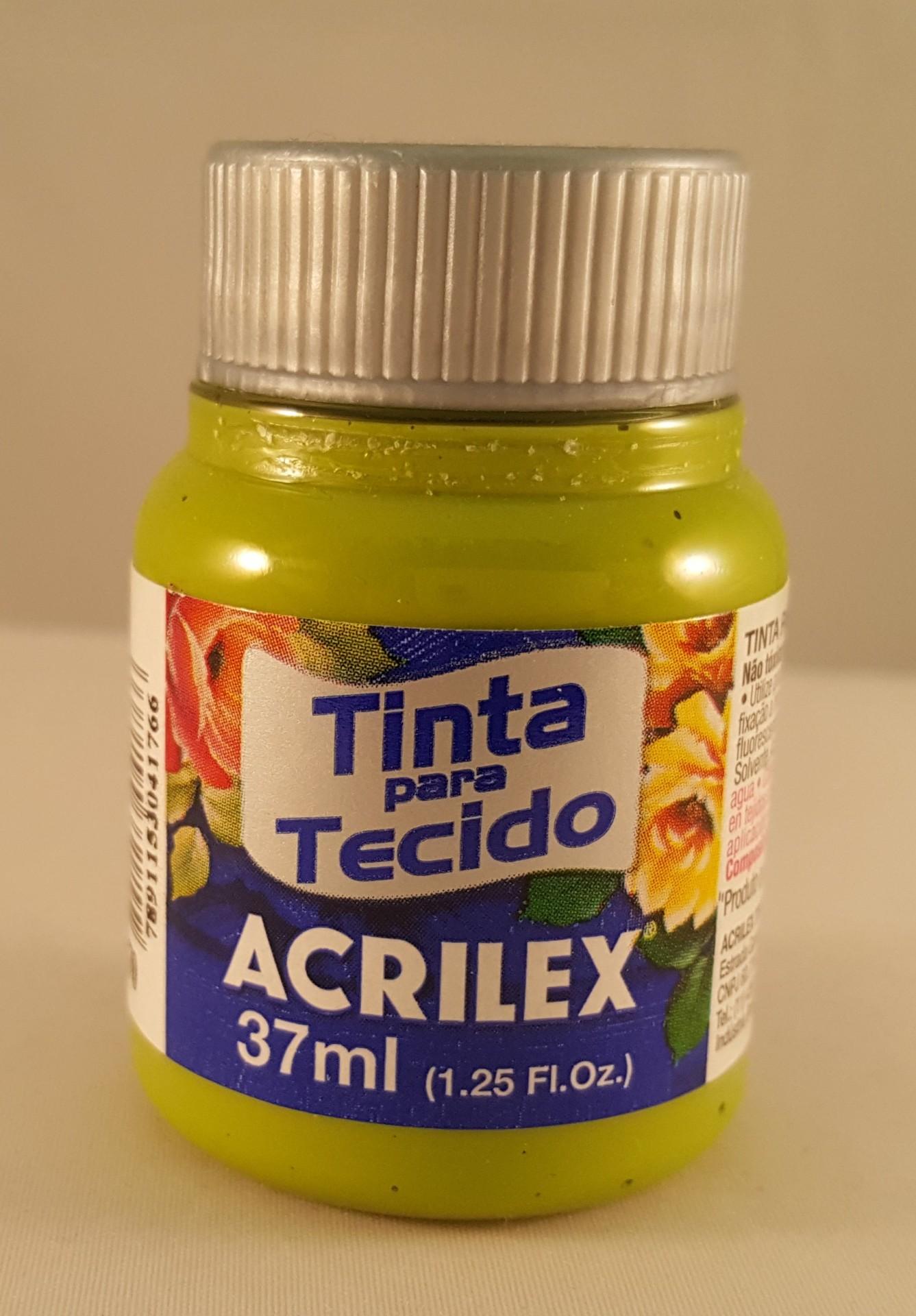 Tinta Tecido Acrilex verde pistache 570