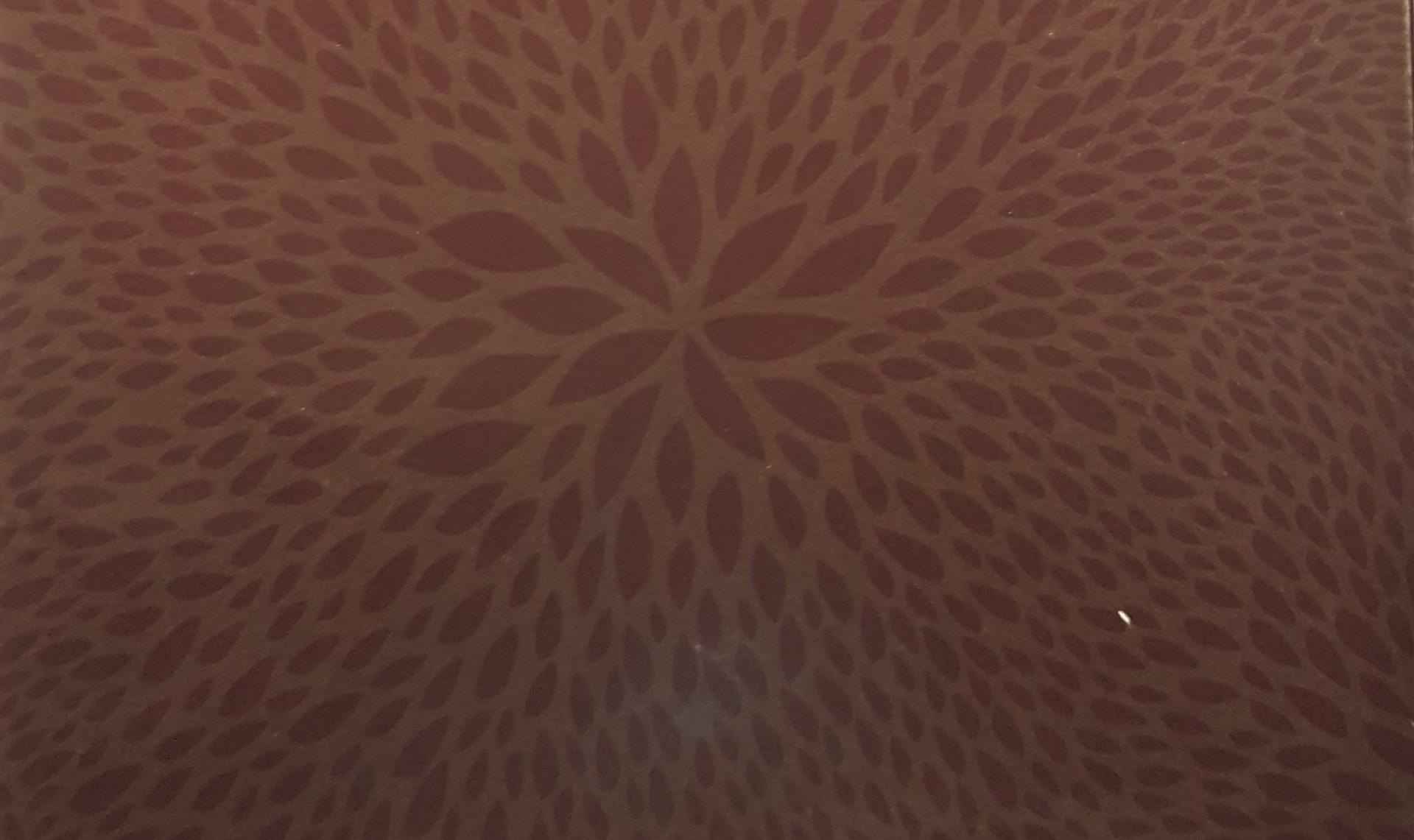 Papel  Décopatch - padrão difuso cor castanha
