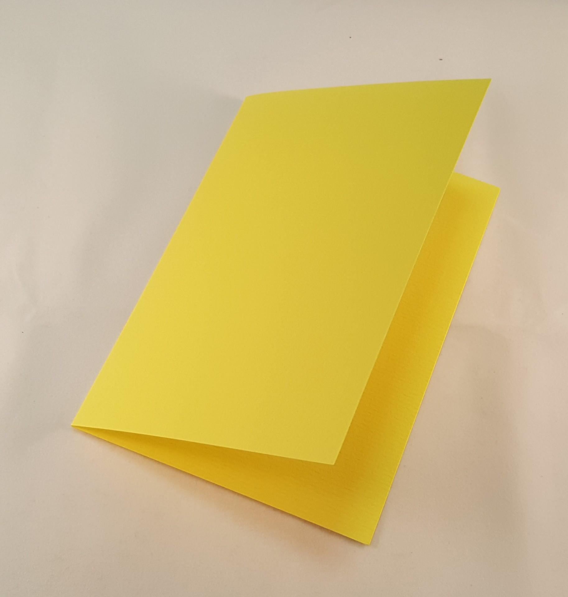 Cartão C6 colorido  cor amarelo limão