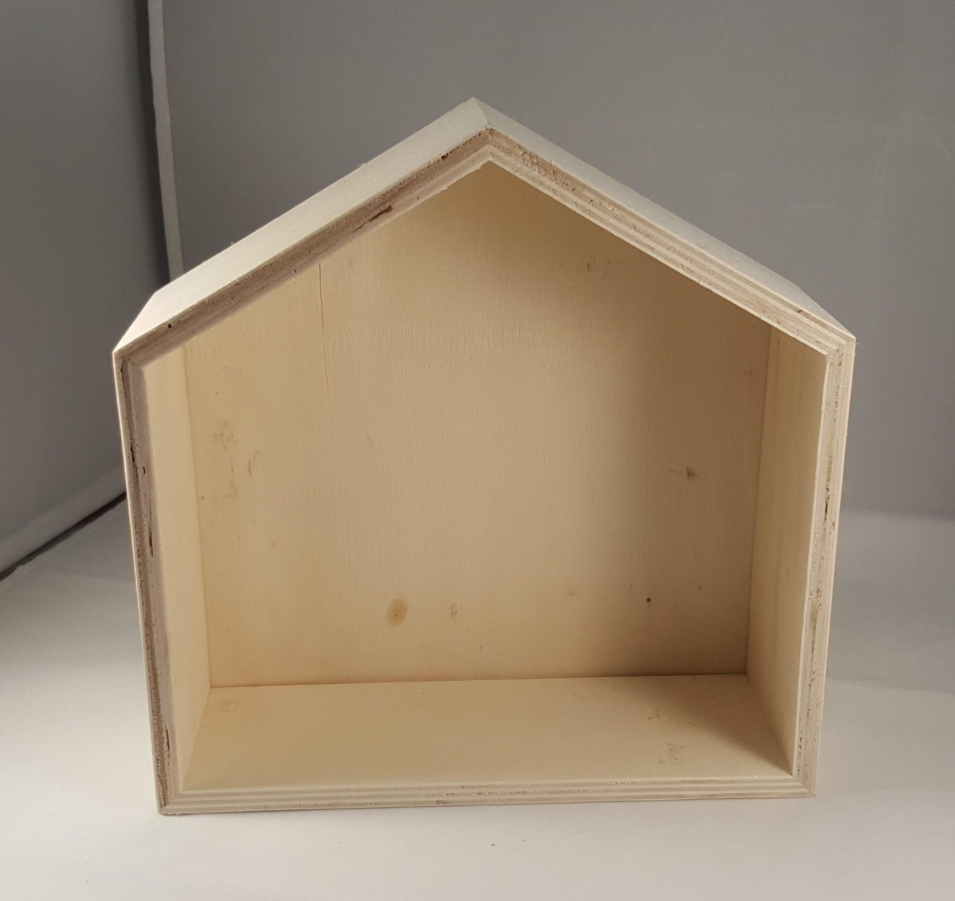 Moldura Caixa casa sem vidro