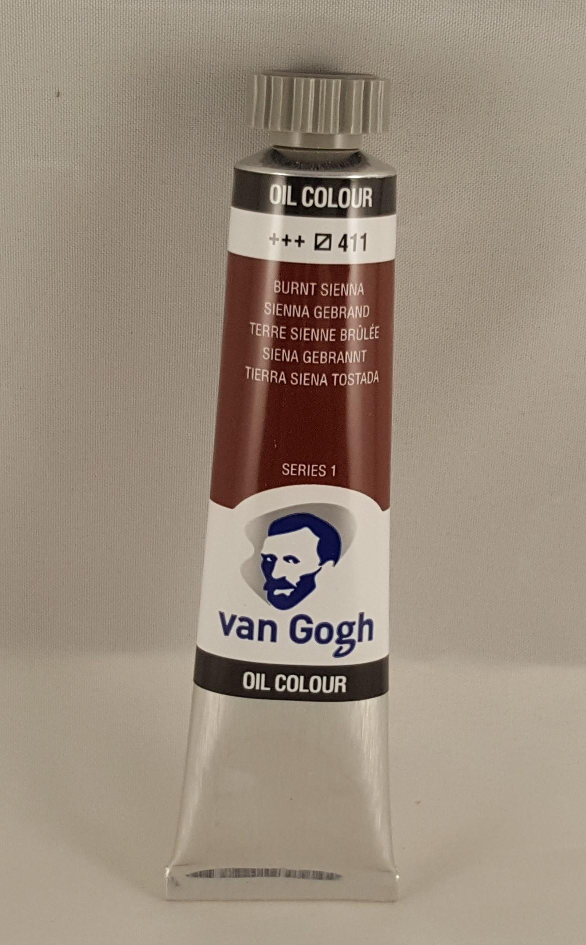 Tinta de óleo Van Gogh burnt sienna