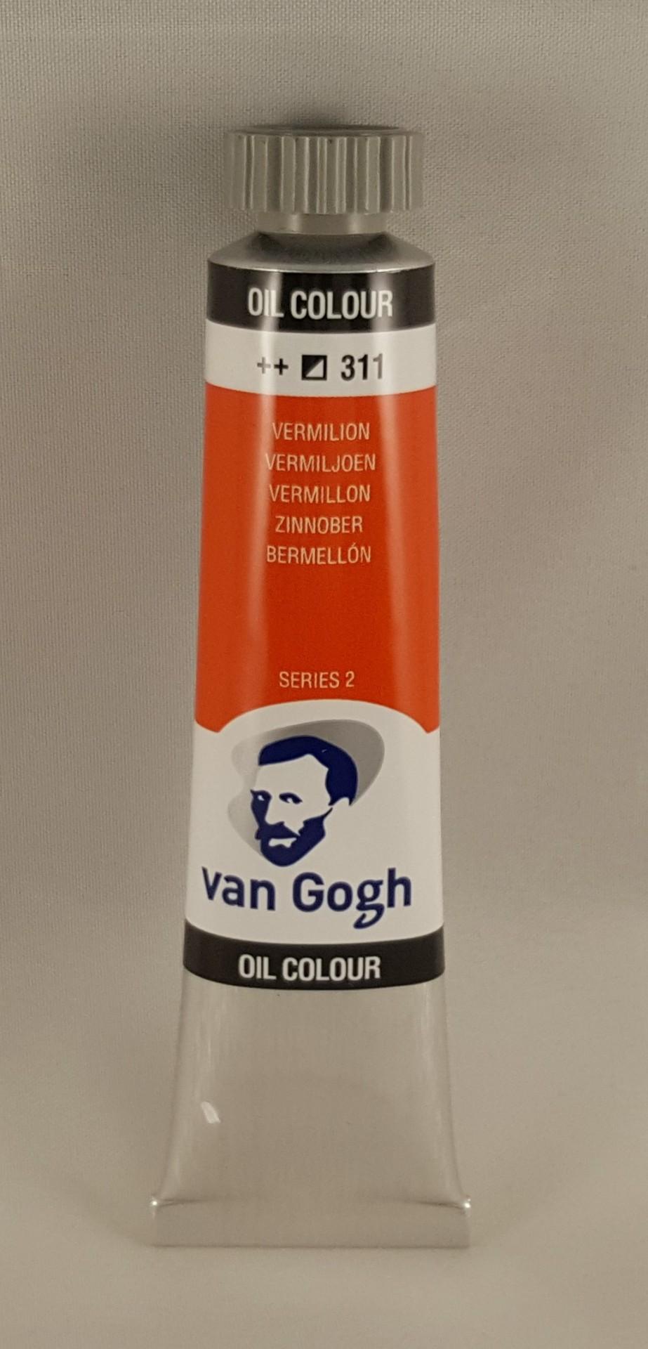 Tinta de óleo Van Gogh vermilion