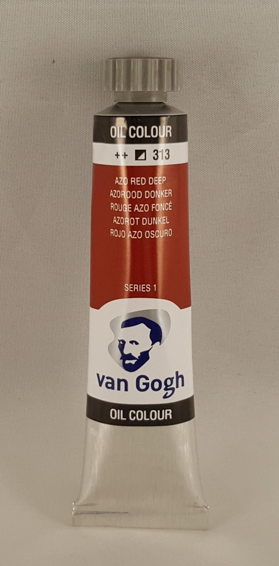 Tinta de óleo Van Gogh azo red deep