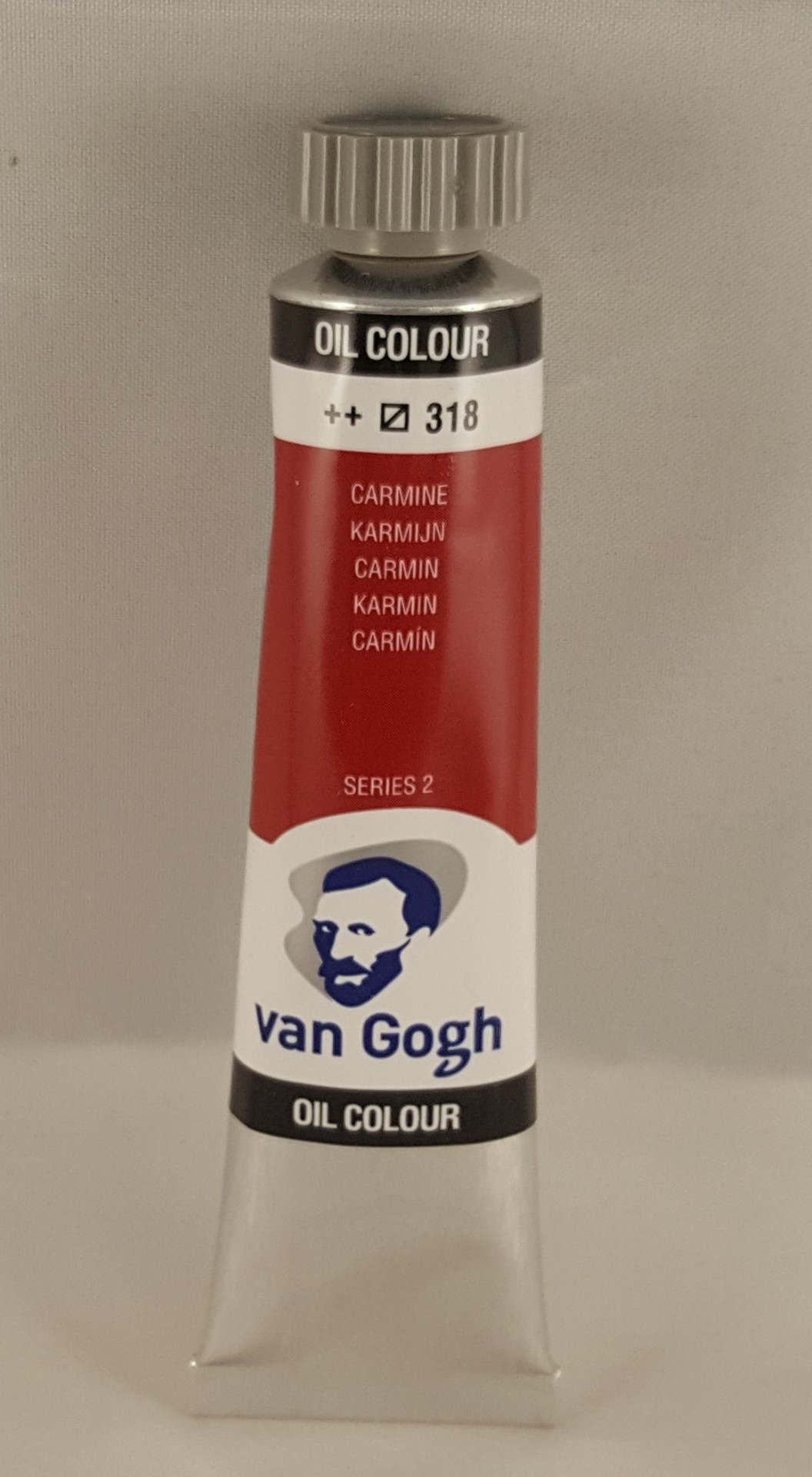 Tinta de óleo Van Gogh carmin