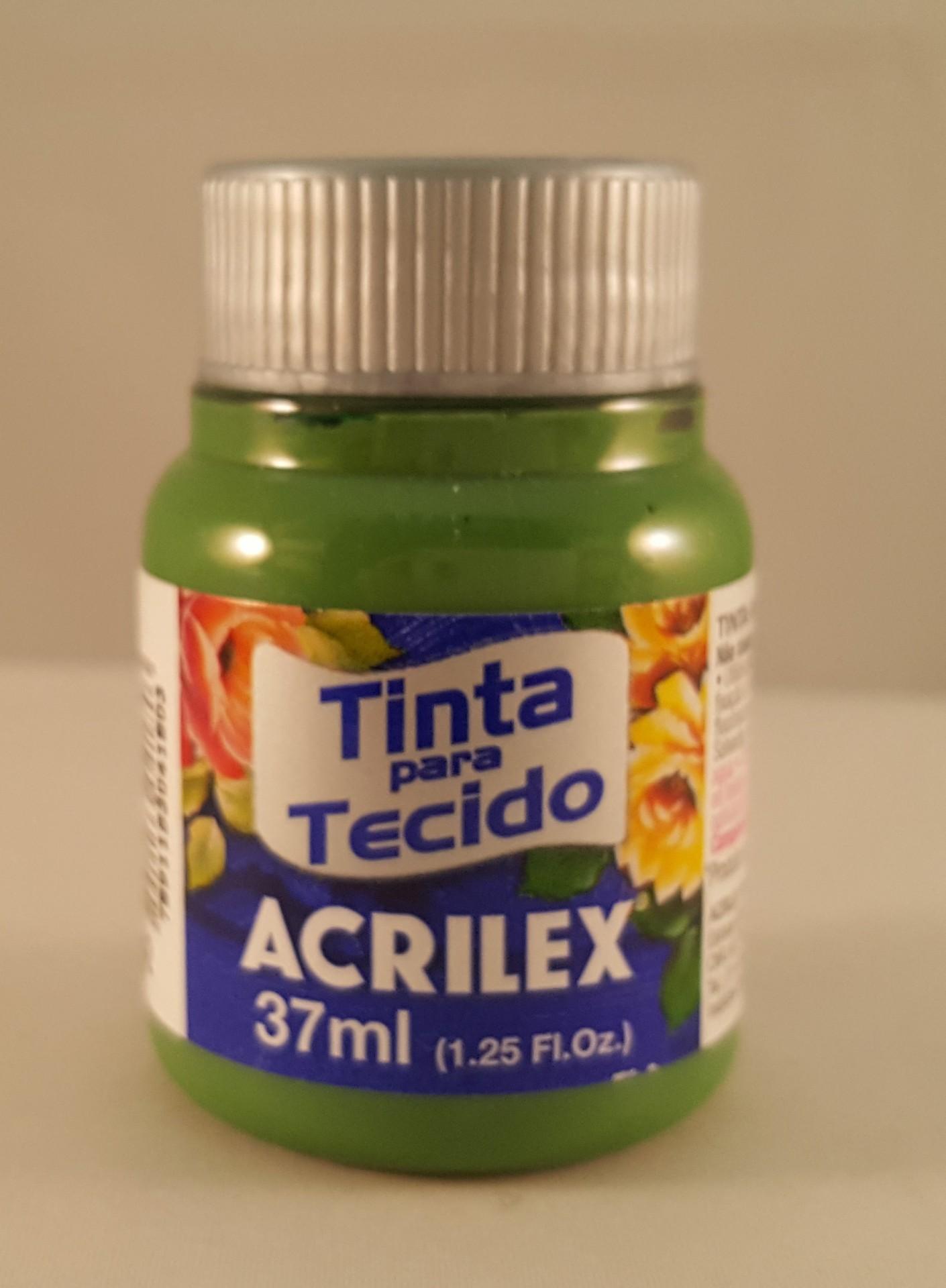 Tinta Tecido Acrilex verde grama 582