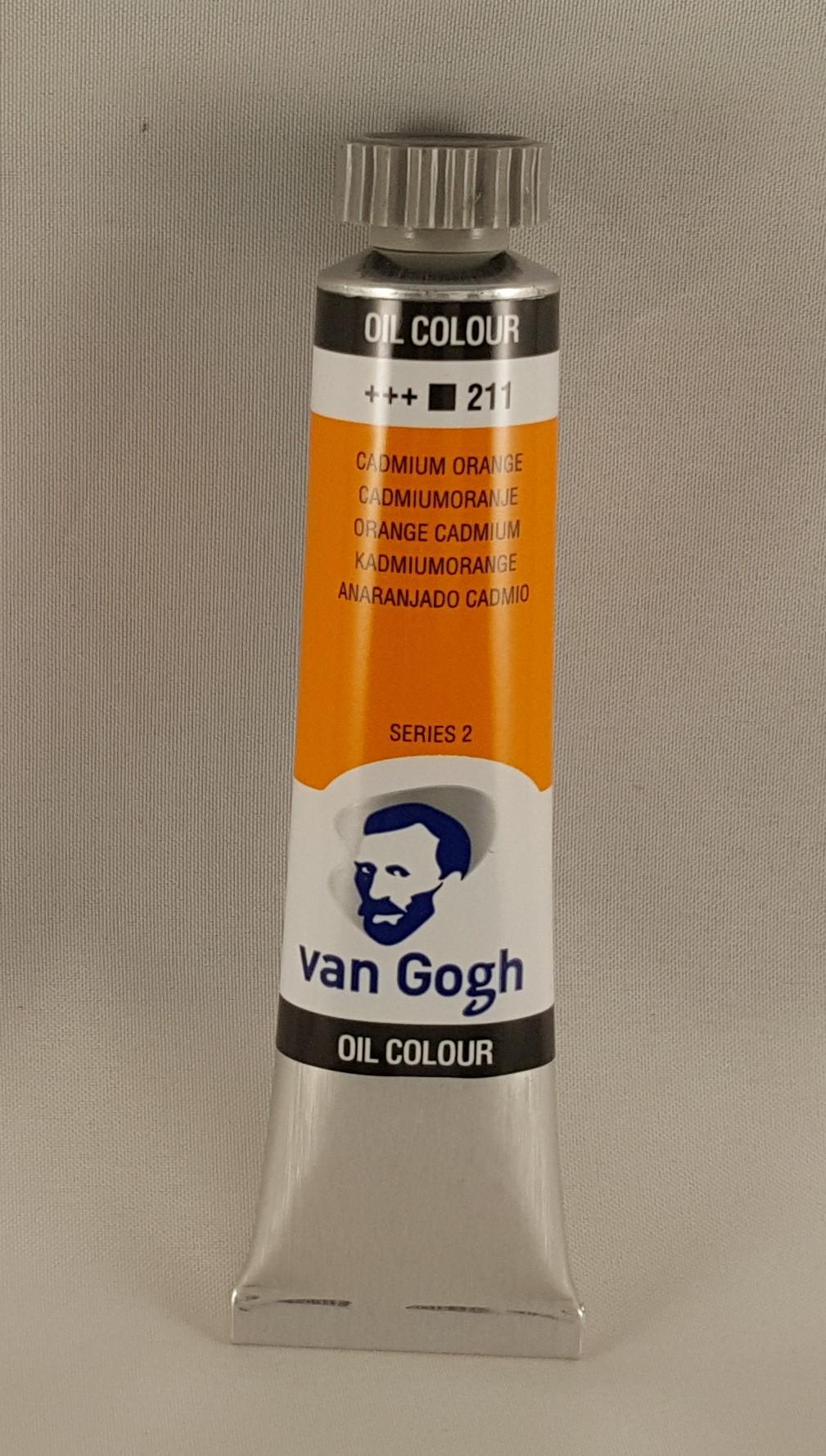 Tinta de óleo Van Gogh cadmium orange