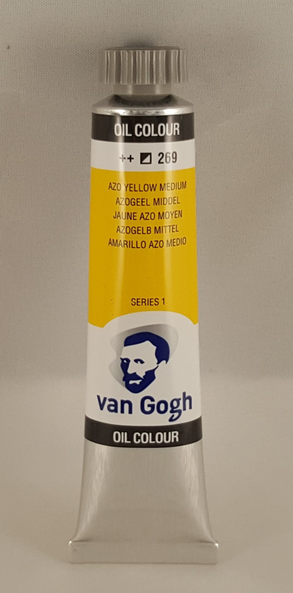 Tinta de óleo Van Gogh azo yellow medium