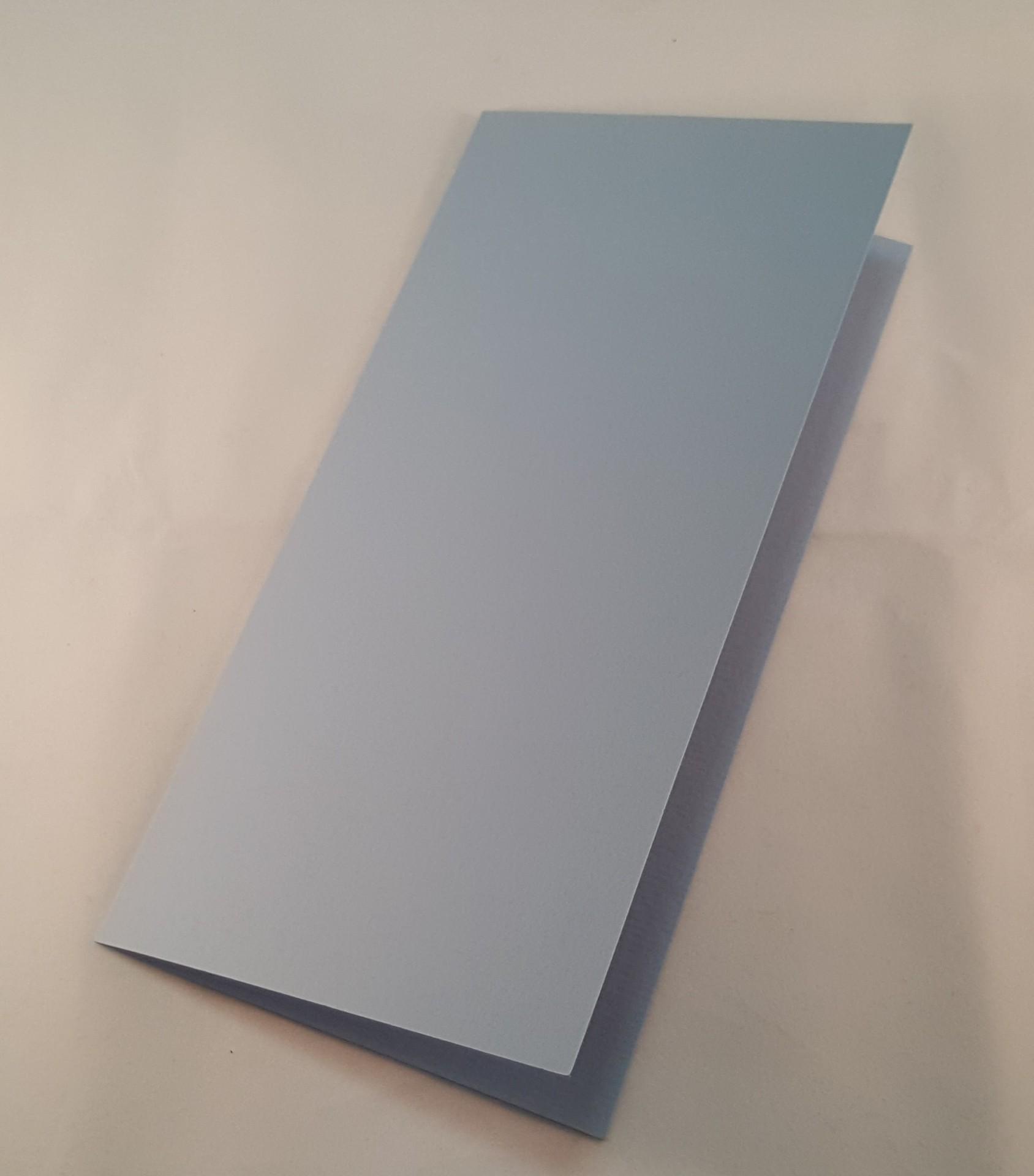 Cartão DL colorido cor azul