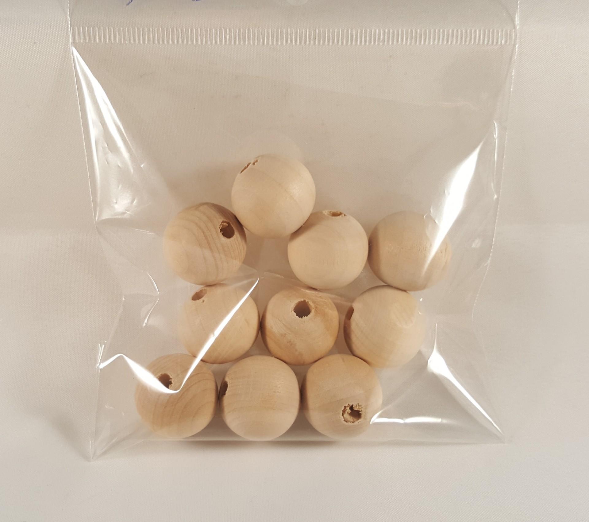 Bolas madeira 17mm