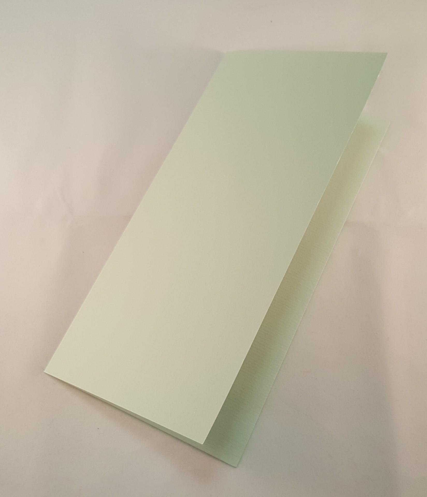 Cartão DL colorido cor azul claro