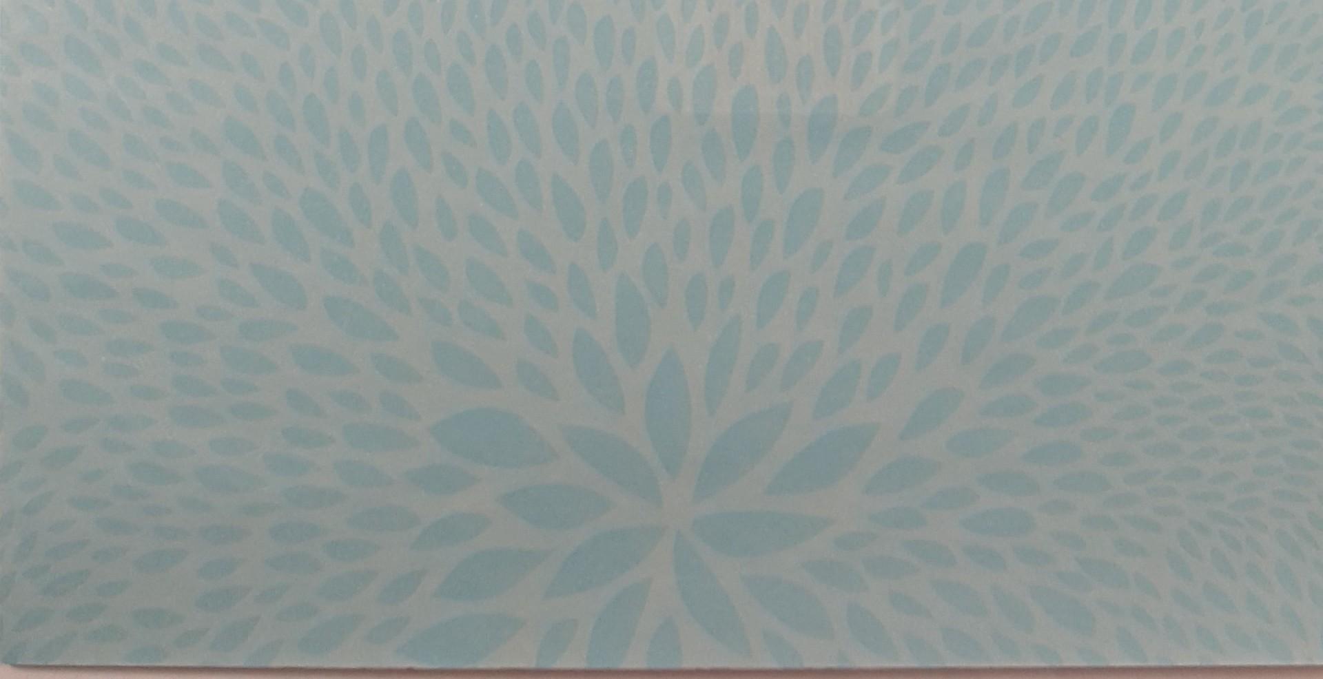 Papel  Décopatch - padrão difuso cor azul