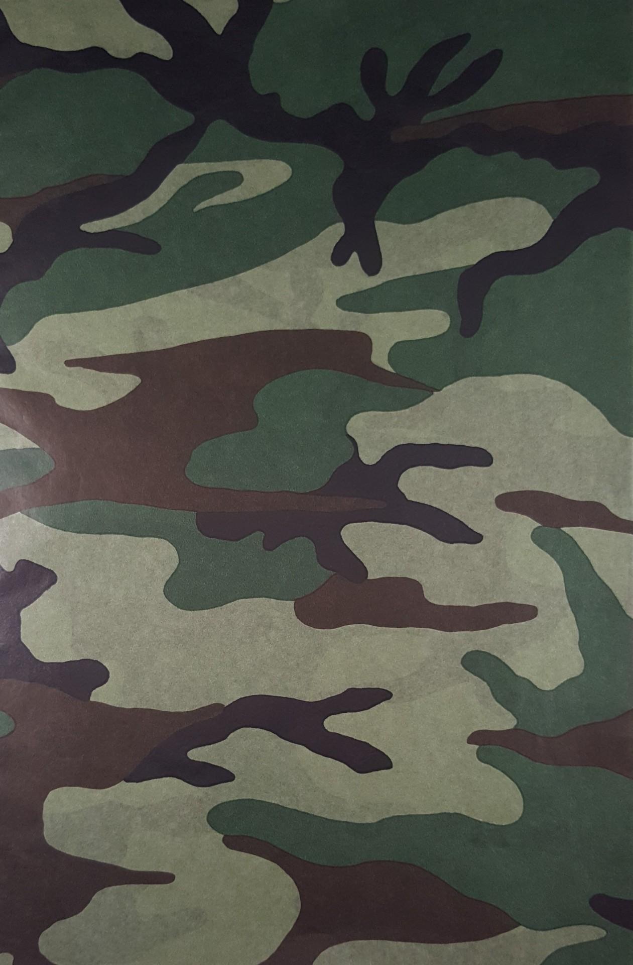 Papel  Décopatch - padrão de camuflado