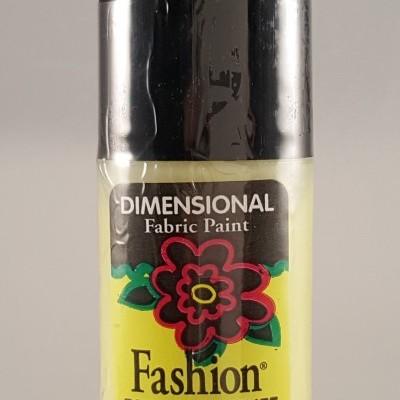 Tinta Dimensional para Tecido Fashion citron sparkle