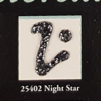 Tinta Dimensional para Tecido Fashion Night Star Glitter