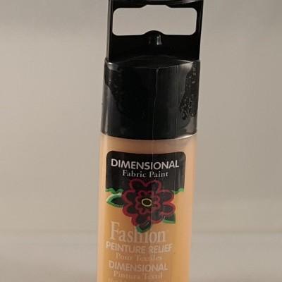Tinta Dimensional para Tecido Fashion apricot sparkle
