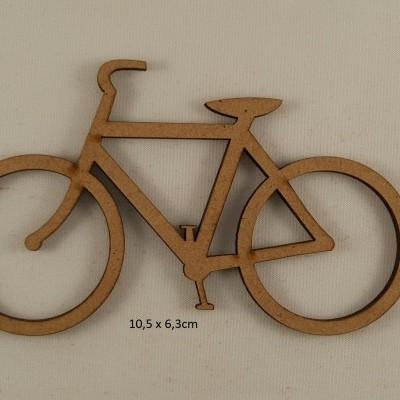 Bicicleta em MDF
