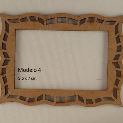 Moldura retangular MDF