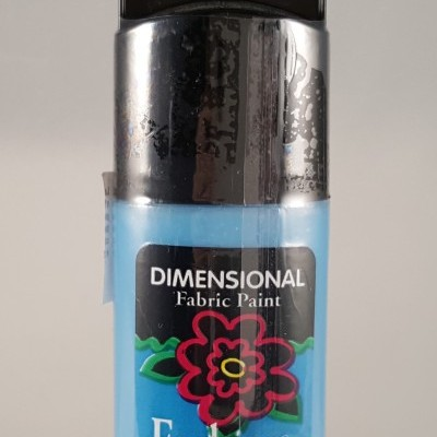 Tinta Dimensional para Tecido Fashion Peacock Sparkle