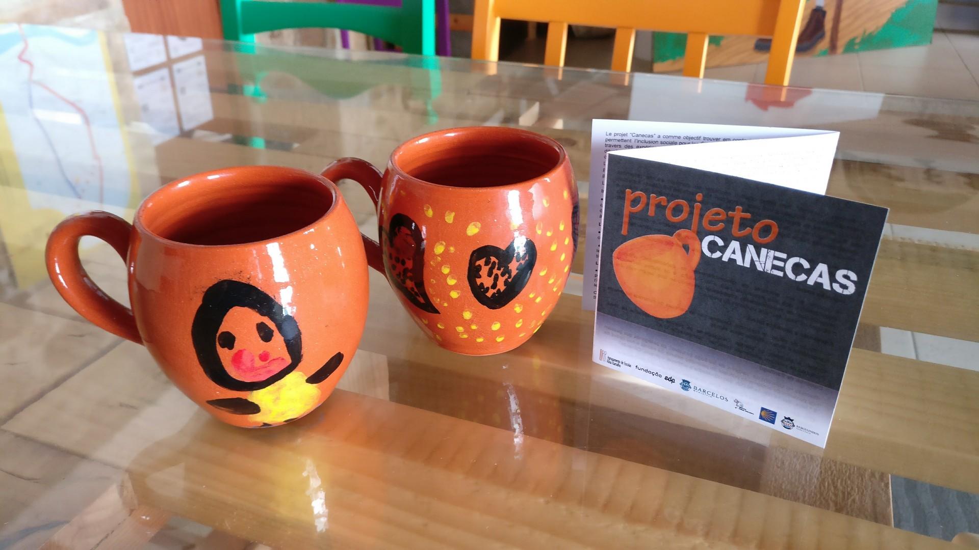 Projeto Canecas disponível no Albergue Cidade de Barcelos