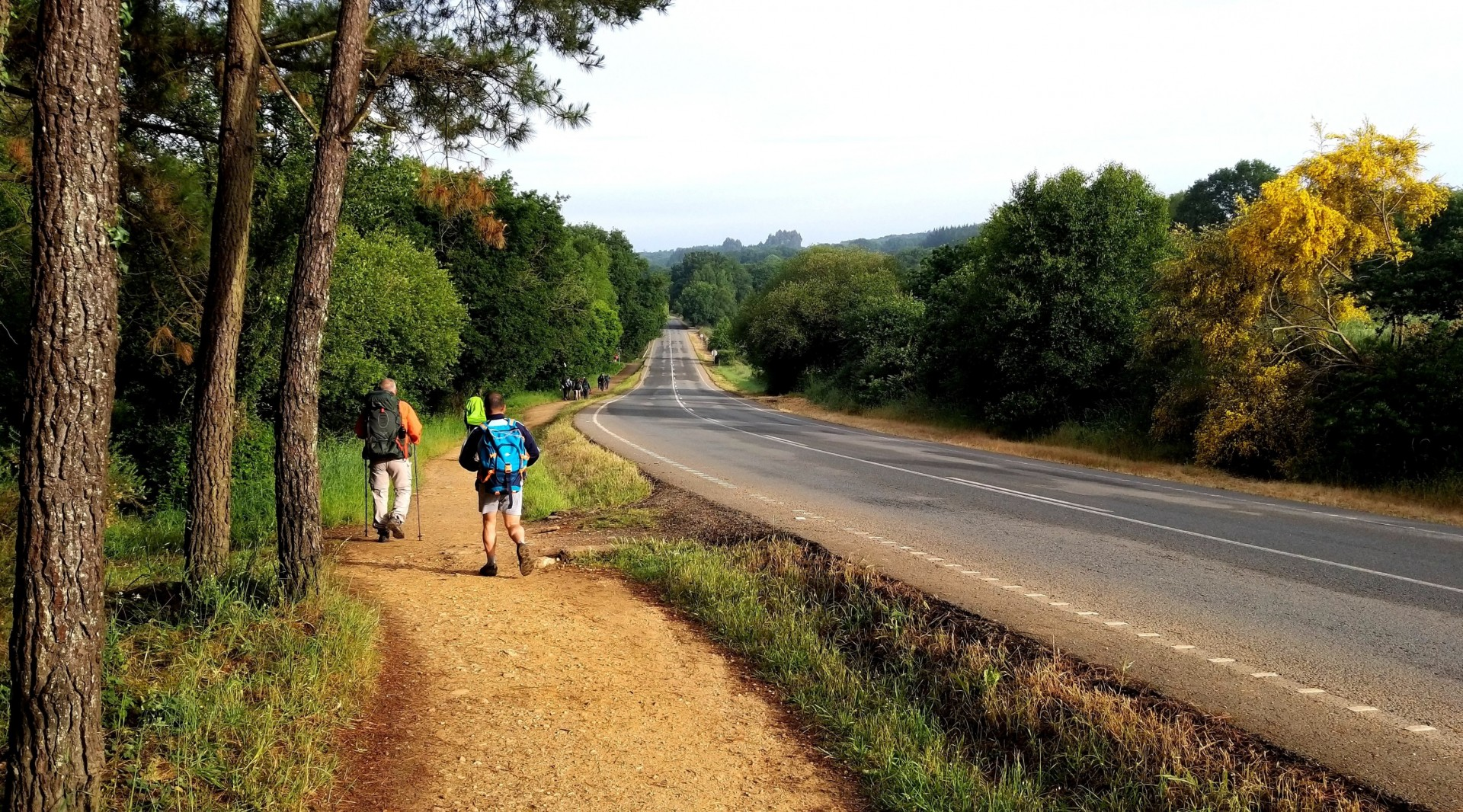 Transporte de Mochilas - Considerações Gerais