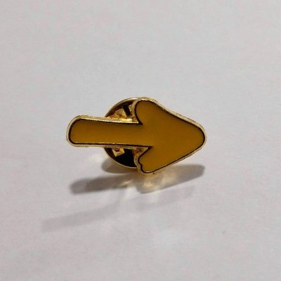 Pin (Seta Amarela)