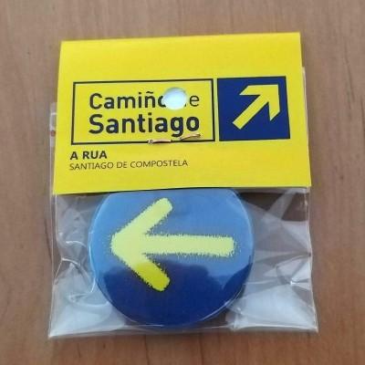 Pin Redondo (Seta Amarela 1)