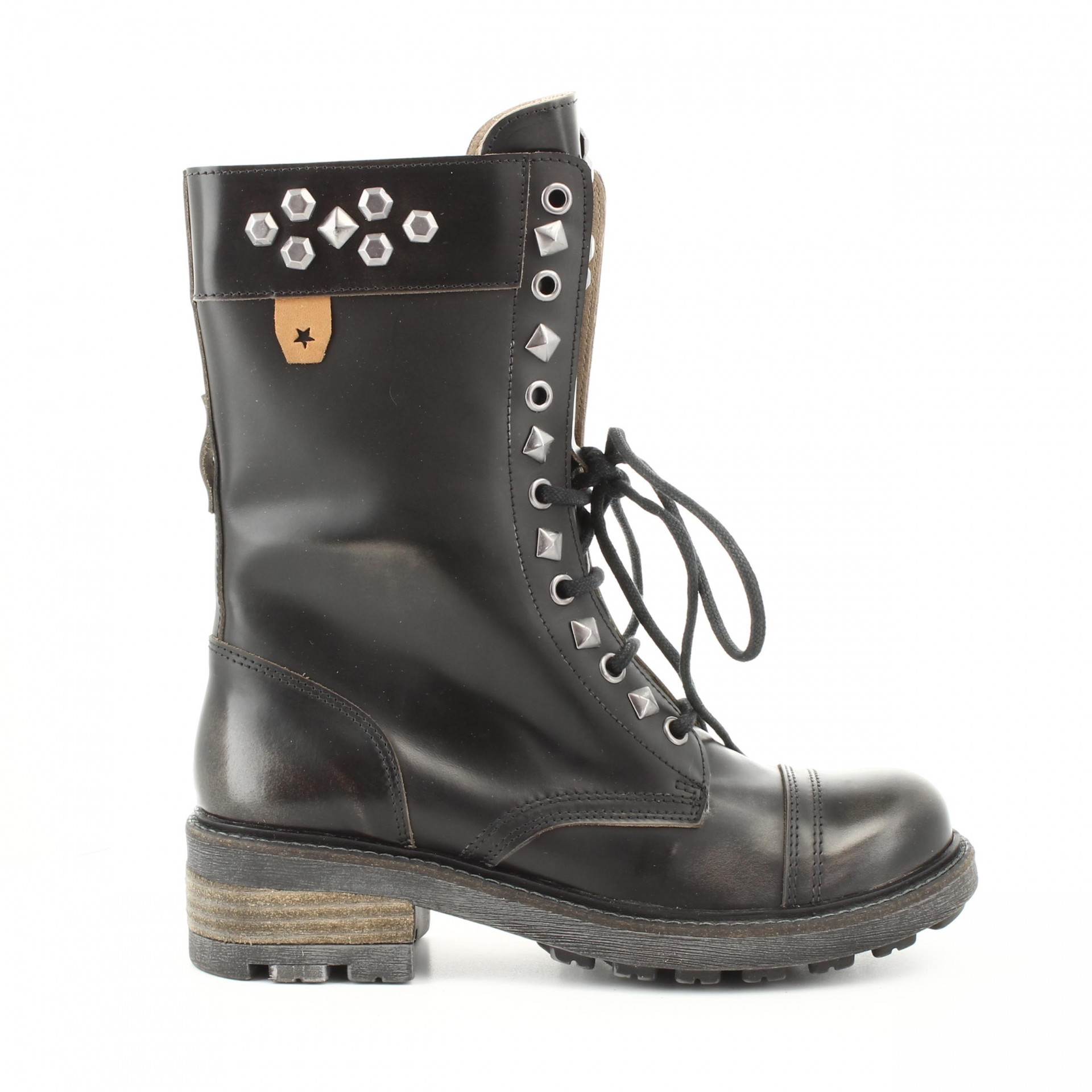 BOTA CUBANAS ESCAPE500 BLACK