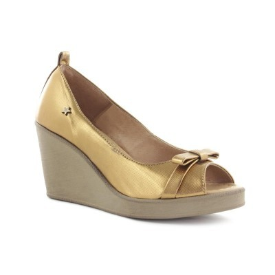 PEEP TOE CUBANAS CULT4220M LIGHT GOLD