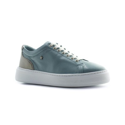 TENIS CUBANAS POLLY230 GREY BLUE+SILVER