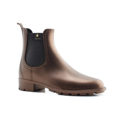 RAINYBOOT CUBANAS RAINY411 BRONZE+BLACK