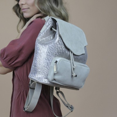 backpack cubanas beije shell100beige Beije