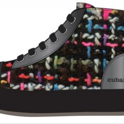 BOTA CUBANAS KITTY320L MULTI+BLACK