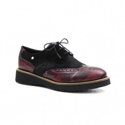 OXFORD CUBANAS DUNE810S BORDEAUX+BLACK+BLACK
