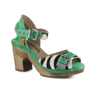 SANDALIA CUBANAS TRIBAL480 GREEN