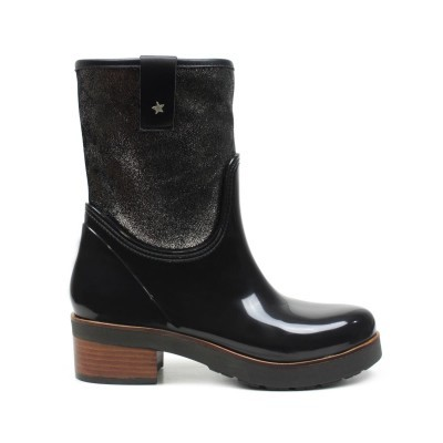 RAINYBOOT CUBANAS GALE220 BLACK+PEWTER