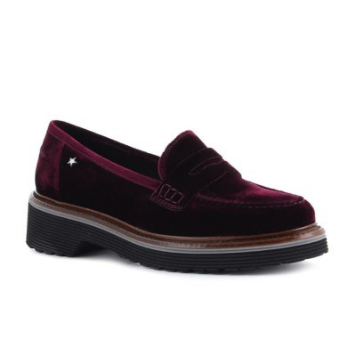 MOCASSIM CUBANAS DALLY200V DARK PURPLE