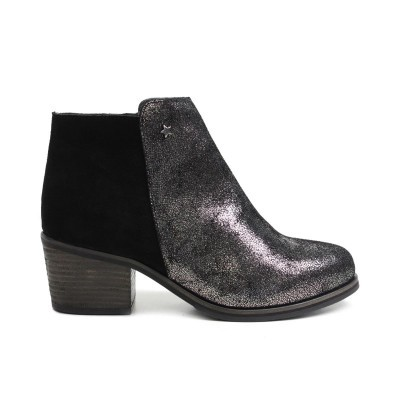 BOTA CUBANAS VITORIA210 PEWTER+BLACK