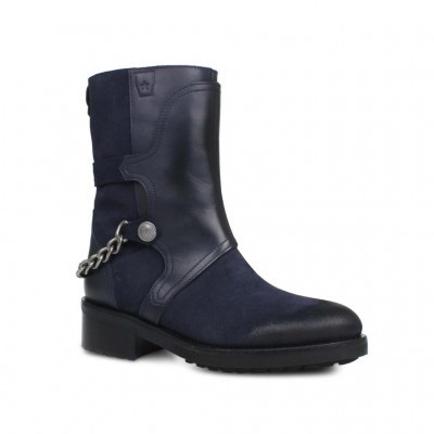 BOTA CUBANAS IRON100 MIDNIGHT BLUE