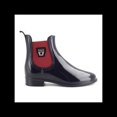 RAINYBOOT CUBANAS RAINY500 MIDNIGHT BLUE+ RED WINE