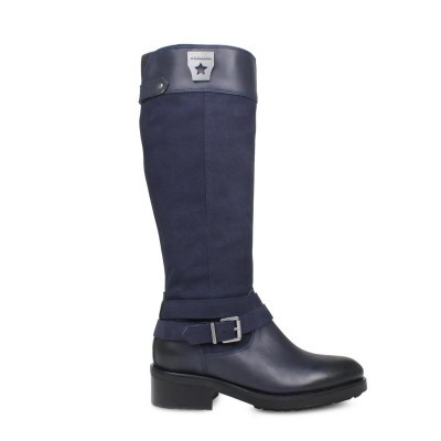 BOTA CUBANAS IRON101 MIDNIGHT BLUE