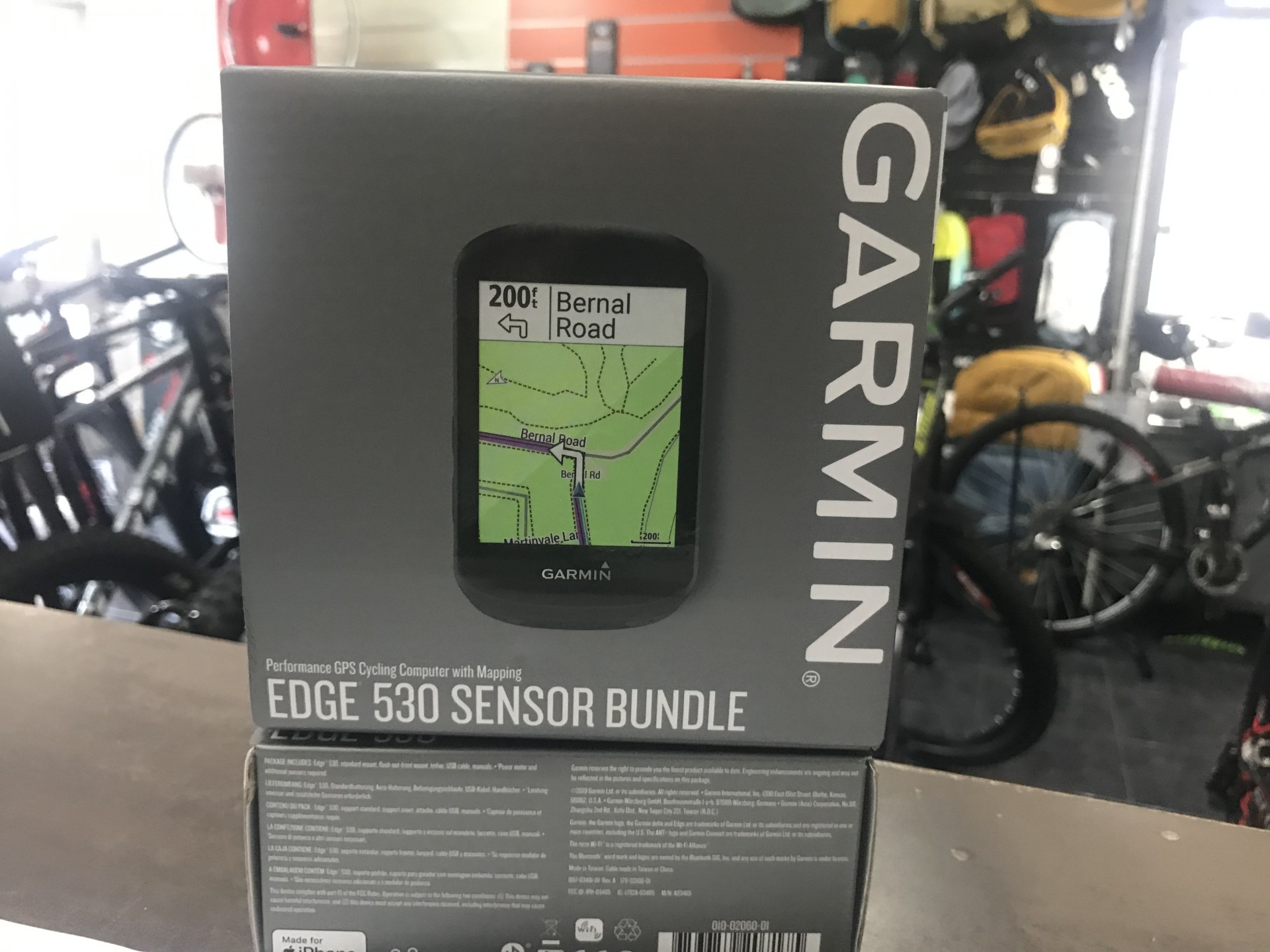 GPS CYCLING GARMIN EDGE 530 BUNDLE EUROPE