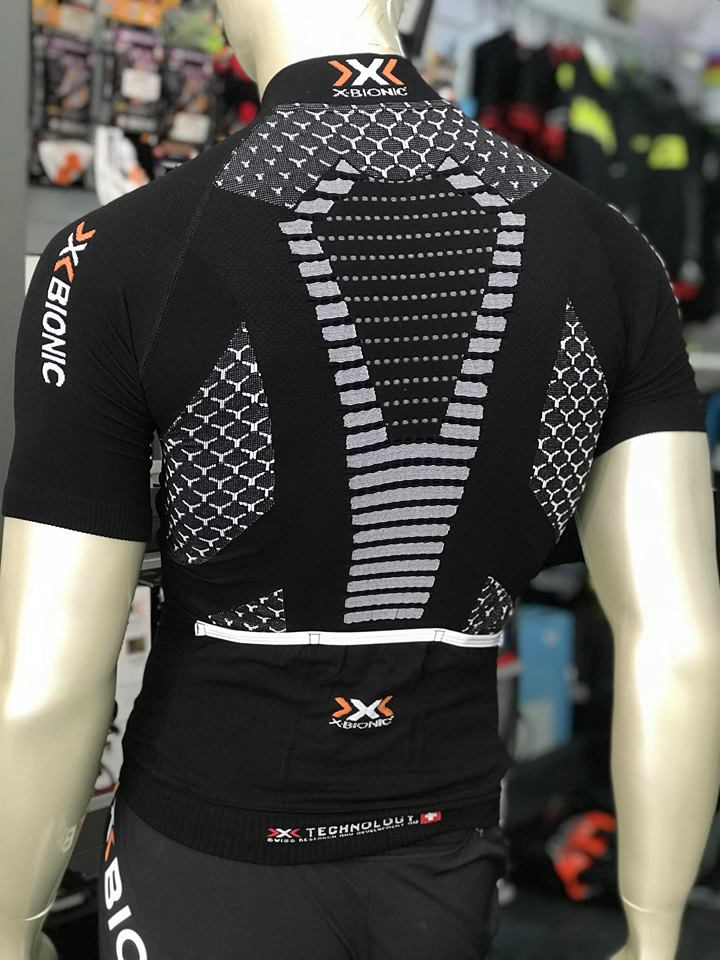 Camisola manga curta X-Bionic Twyce - Preta