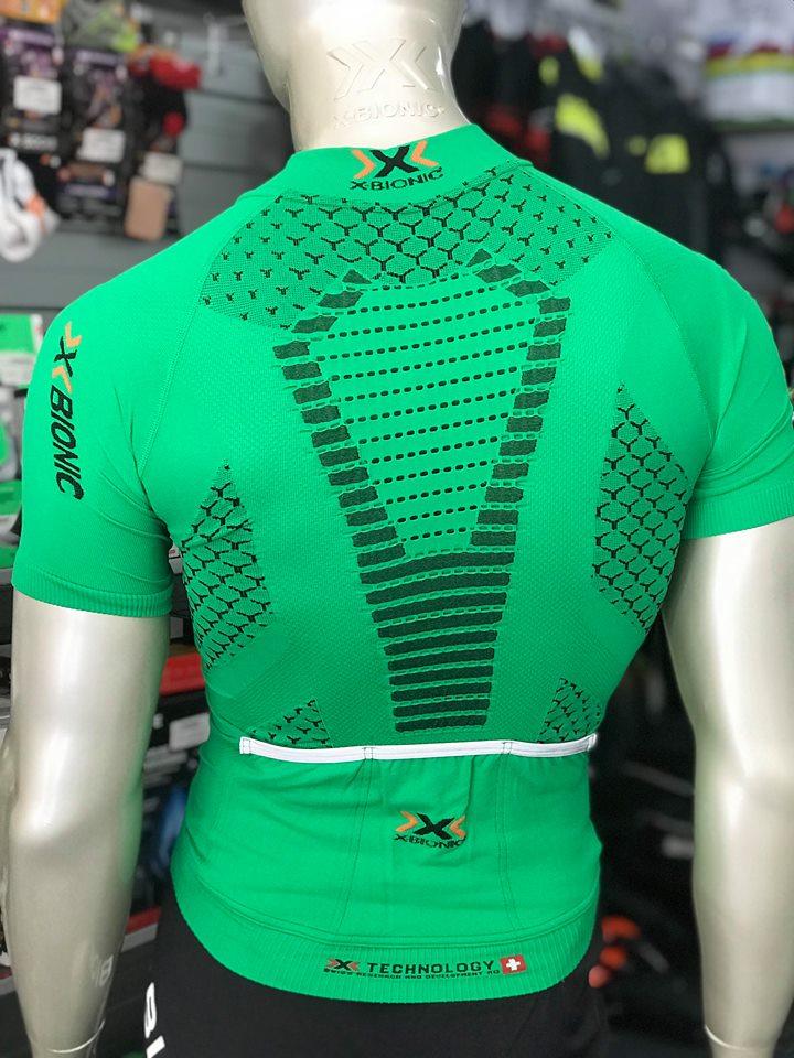 Camisola manga curta X-Bionic Twyce - Verde