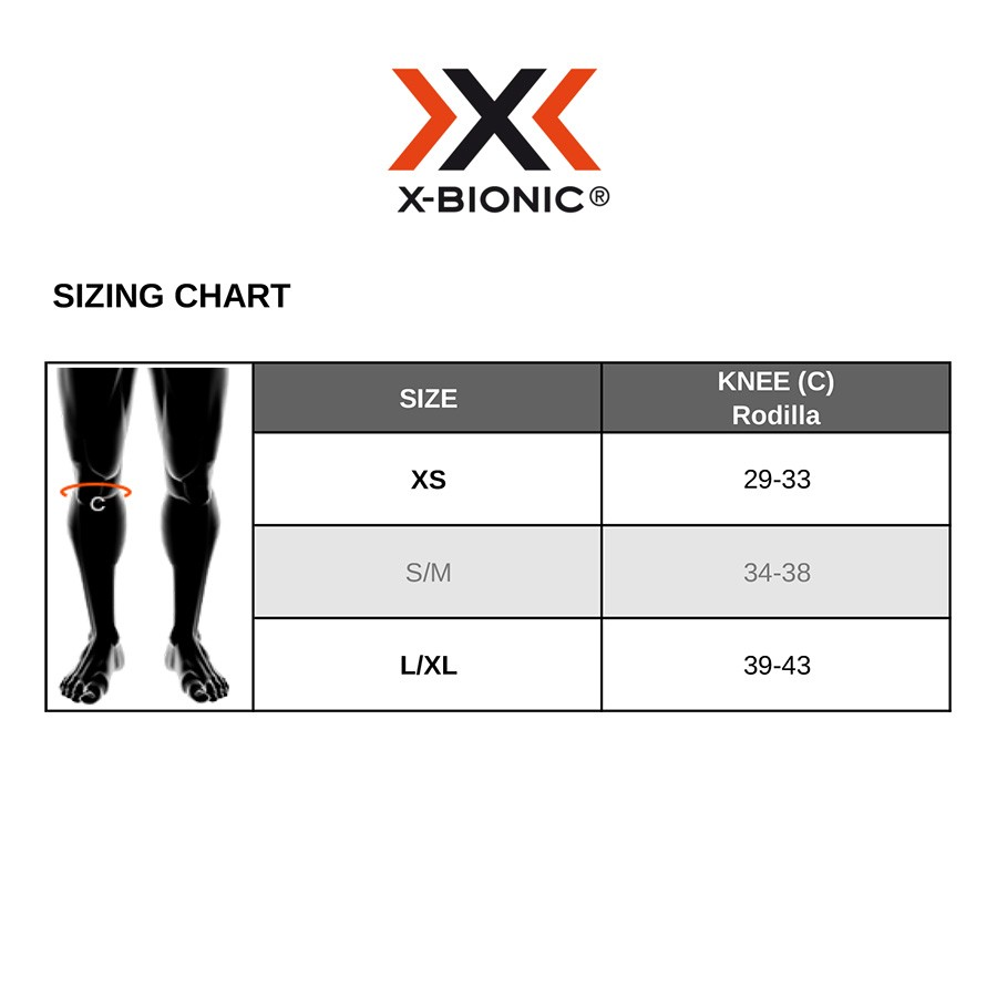 Joelheiras X-BIONIC X- GENUS