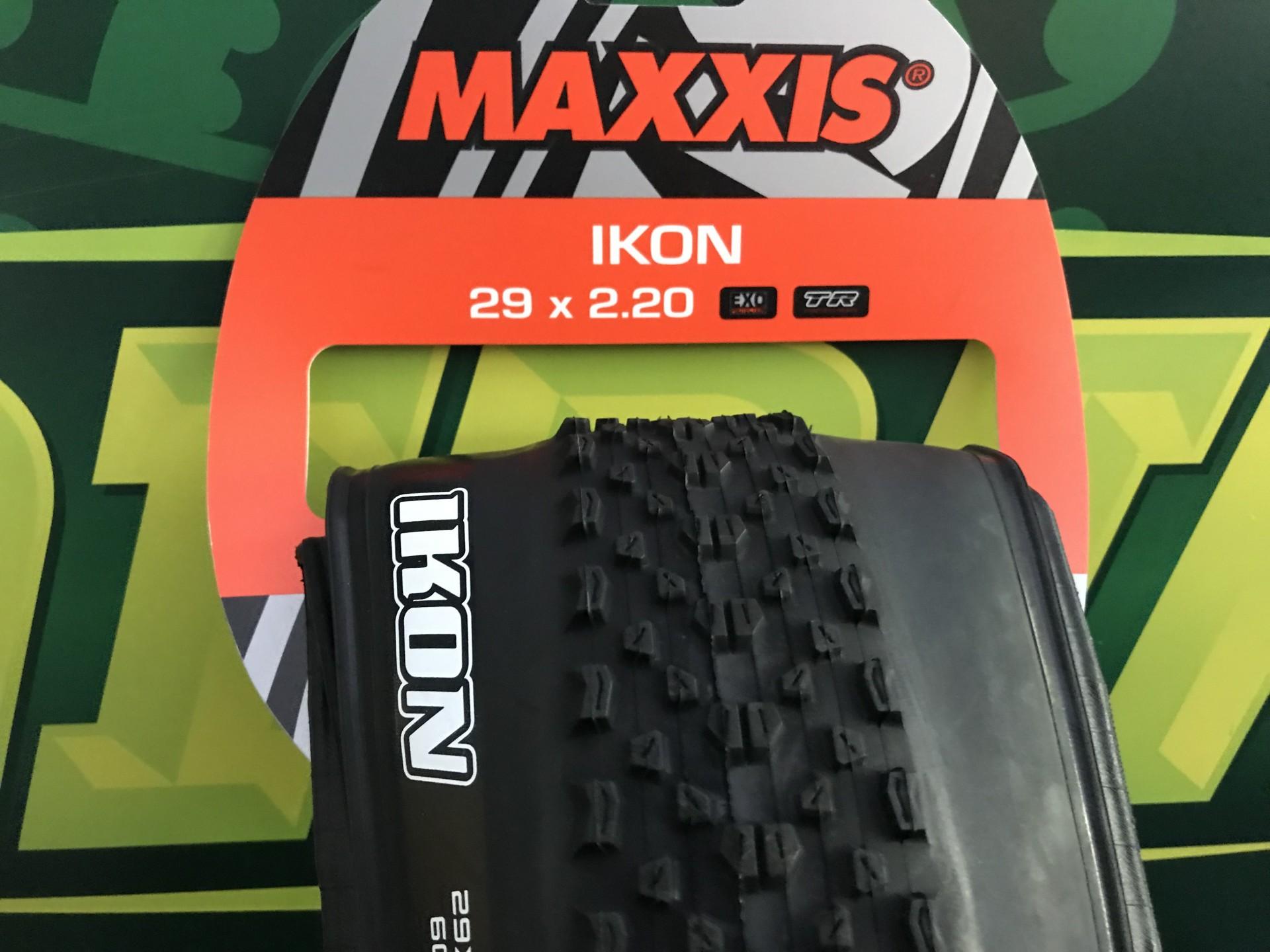 PNEU MONTANHA MAXXIS IKON 29X2.20 EXO/TR 60TPI FLANCO DOBRÁV