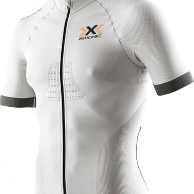 Jersey X-Bionic Race EVO Biking Shirt - Branco